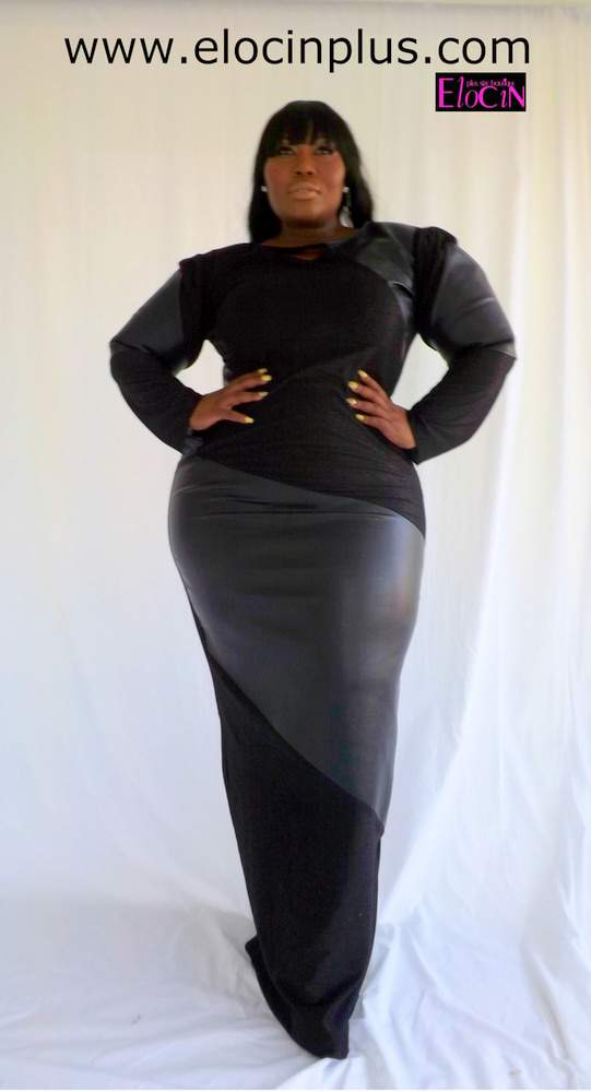 Gotta Have It: Fantasia Plus Size Dress by Elocin