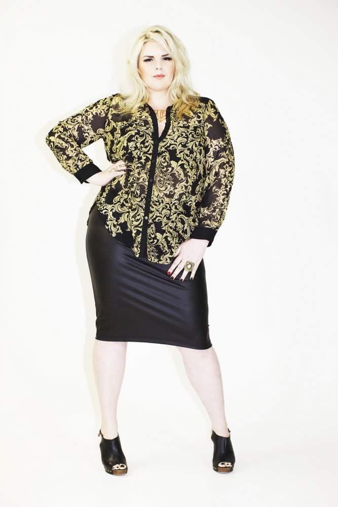 Plus Size Australain Designer- Harlow Spring 2014