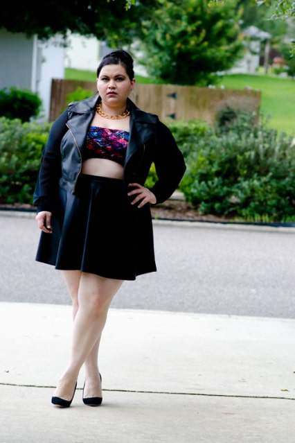 Kirstin Marie #TCFStyle Five Looks We Love: Faux Leather