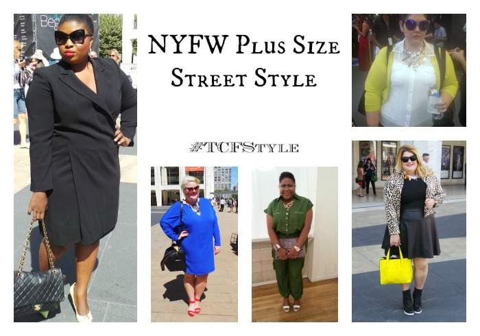 Out and About: Plus Size Street Style at NYFW