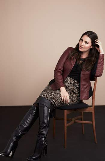 Nordstrom Look Plus Size Coats