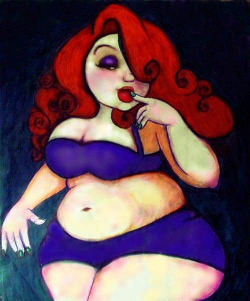 Plus SIze Art: From F yeah Disney Fan Art- BFD