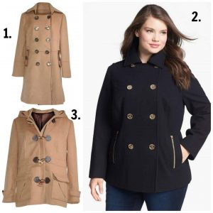 Plus Size Peacoats