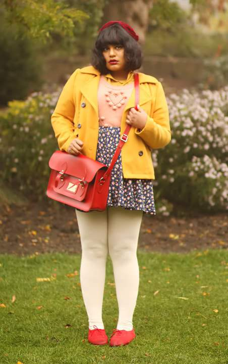 Plus size blogger spotlight: Ragini Nag Rao from CuriousFancy.com