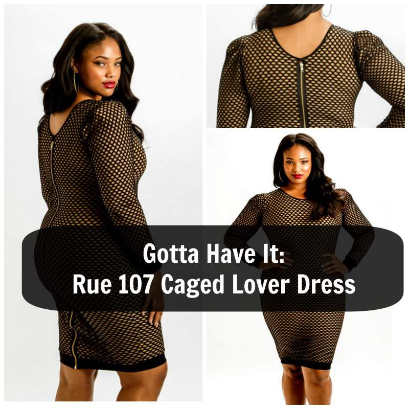 Gotta Have It: Rue 107 Plus Size Caged Lover Dress