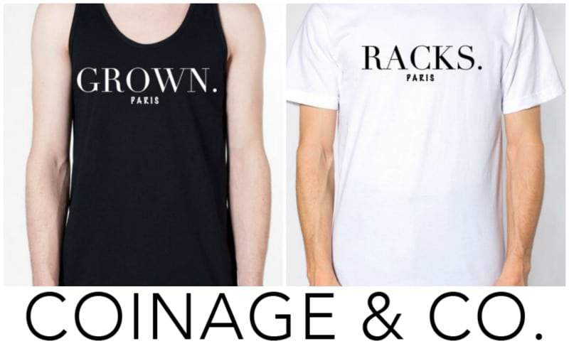 coinage and co tees worn by Beyonce