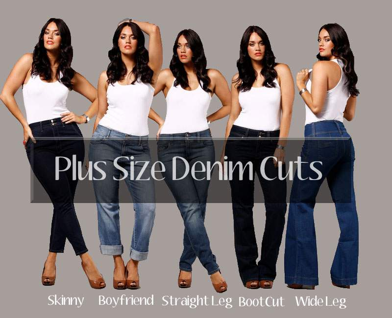 Plus Size Denim Cuts