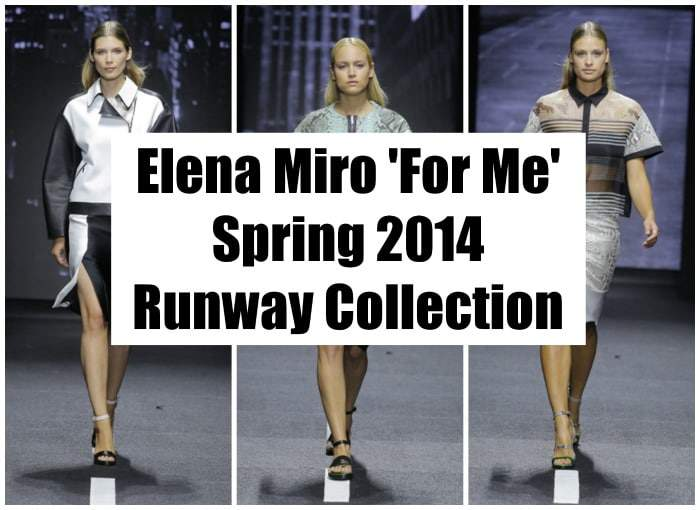 Elena Miro For Me Spring 2014 COllection