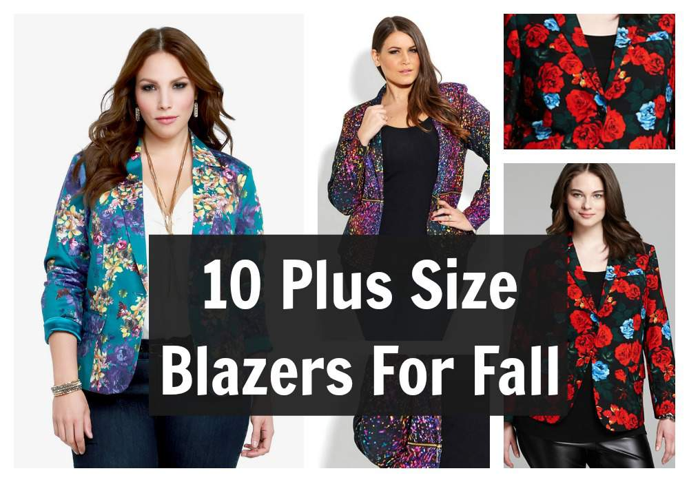 10 Plus Size Blazers to Complete Your Look this Fall