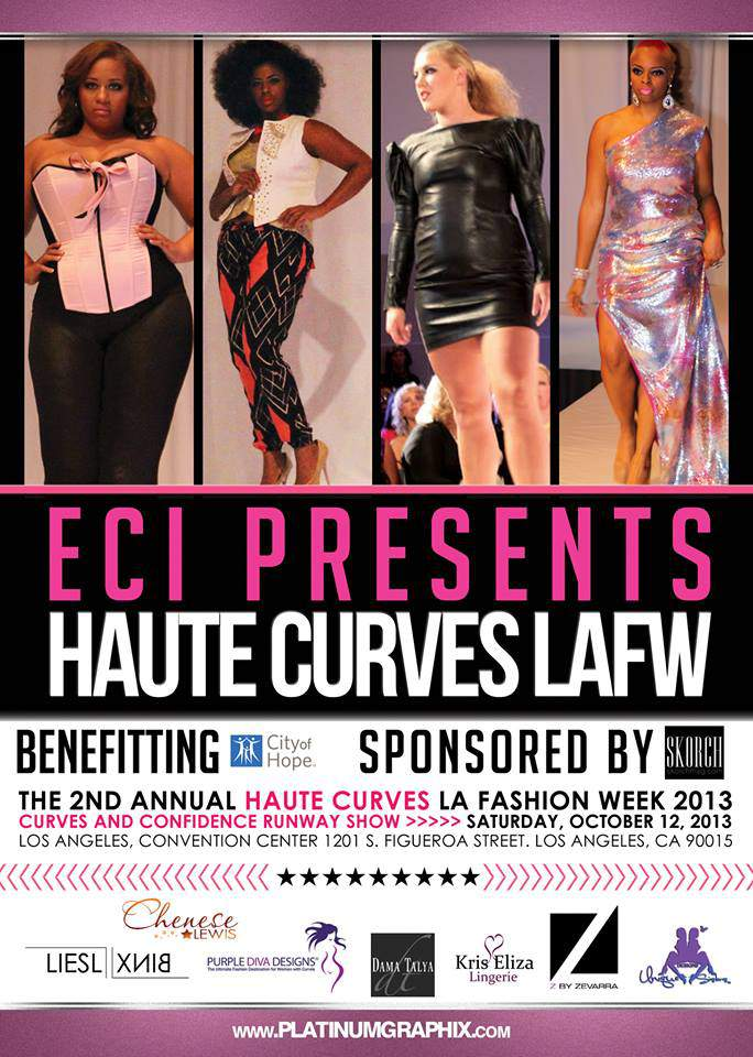 Haute CUrves Plus Size fashion SHow