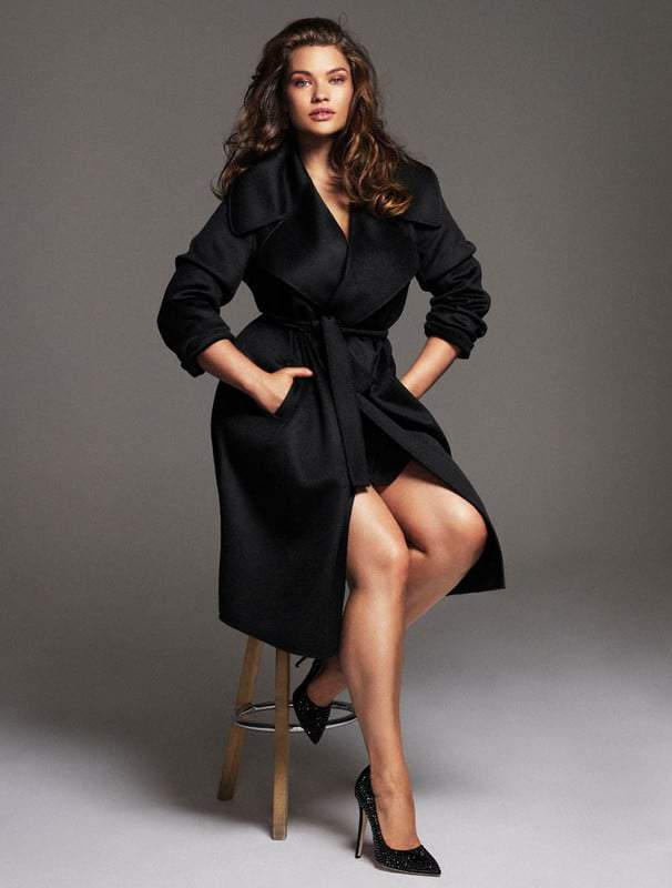 Tara Lynn on the Cover of Elle Spain