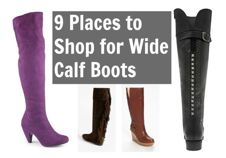 9 places to shop for wide calf boots
