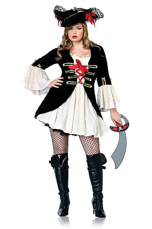 Captain Swashbuckler Plus size Costume