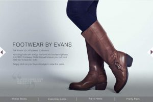 Evans Wide Calf Boots