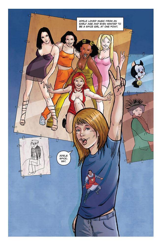 Adele Comic Book 'Fame'