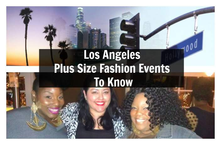 LA plus size fashion events