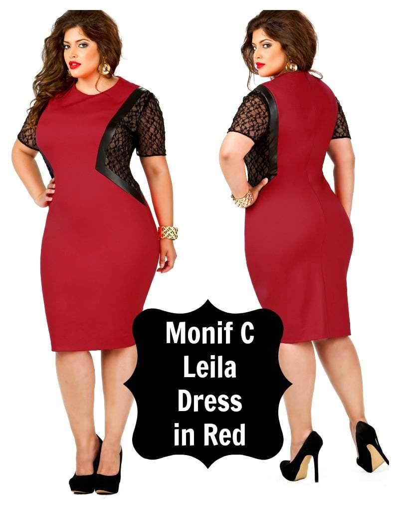 Monif C Leila Dress in Red