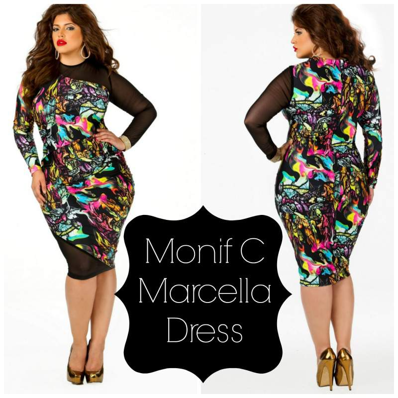 Monif C Marcella Dress Print