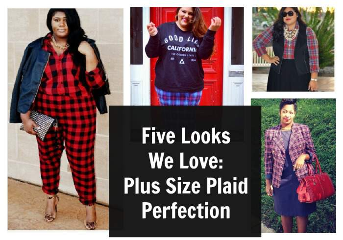 Plus SIze Plaid