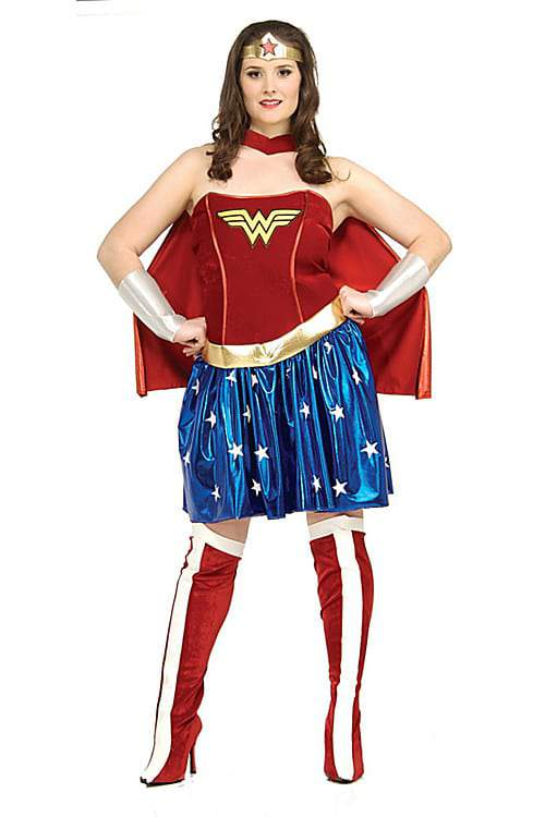 Wonder Woman Plus Size Costume