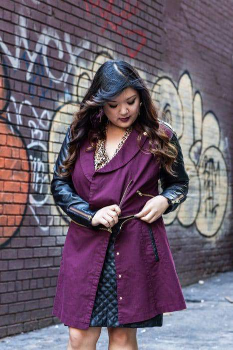 MYNT 1792 Blogger Coat Collaboration- Allison Teng