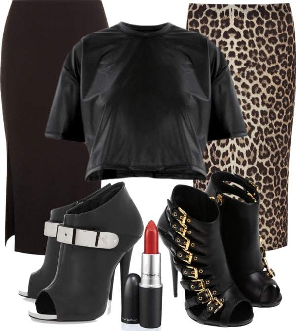 My Favorite Fall Plus Size Trends Leather