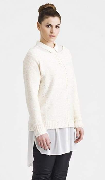 Carmakoma Crystal Knit Sweater