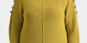 Carmakoma Os Spicy Yellow Sweater