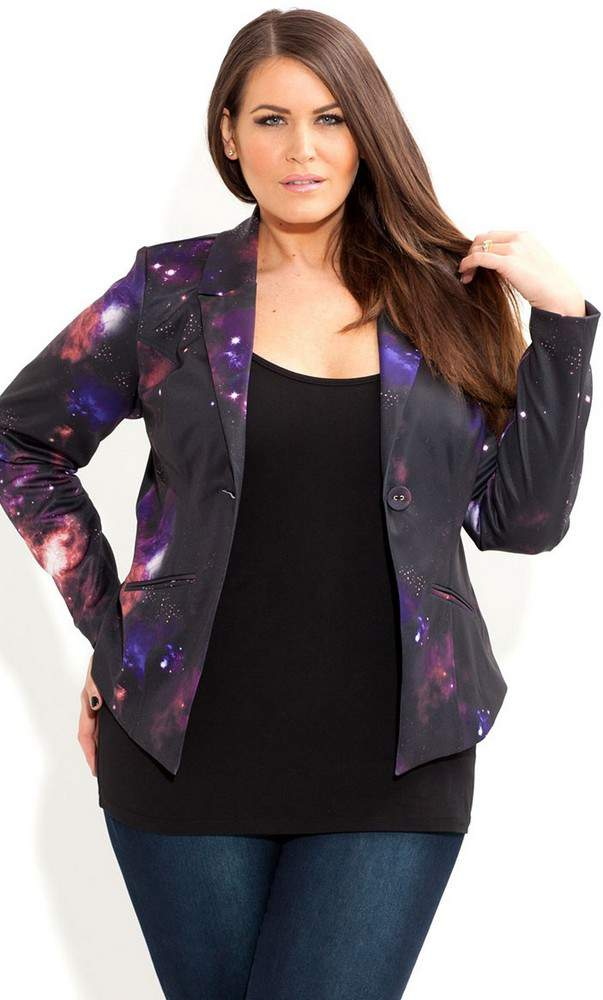 City Chic Galaxy Blazer