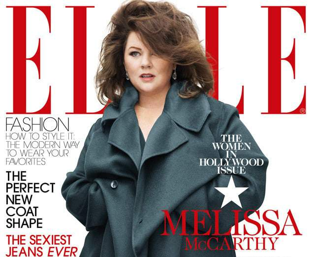 Plus Size News: Melissa McCarthy Covers Elle Magazine Women In Hollywood Issue