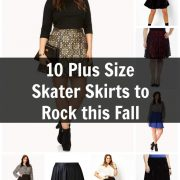 10 plus size skater skirts to rock this fall featured