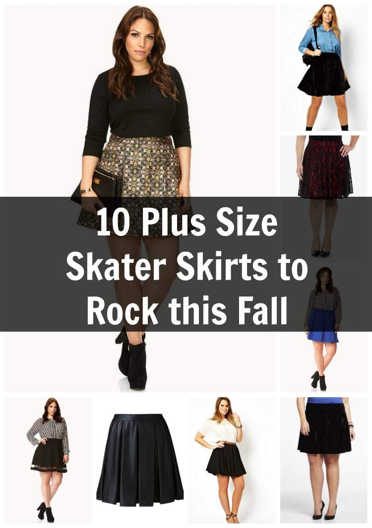 1b771df5239 10 plus size skater skirts to rock this fall featured