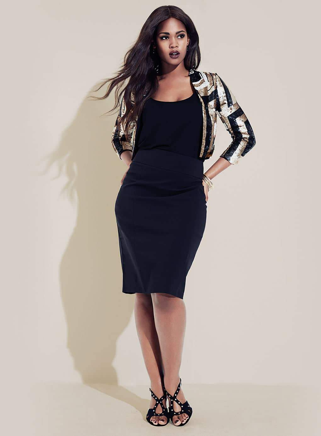 Gotta Have It This Plus Size Sequins Bolero From Evans The Curvy