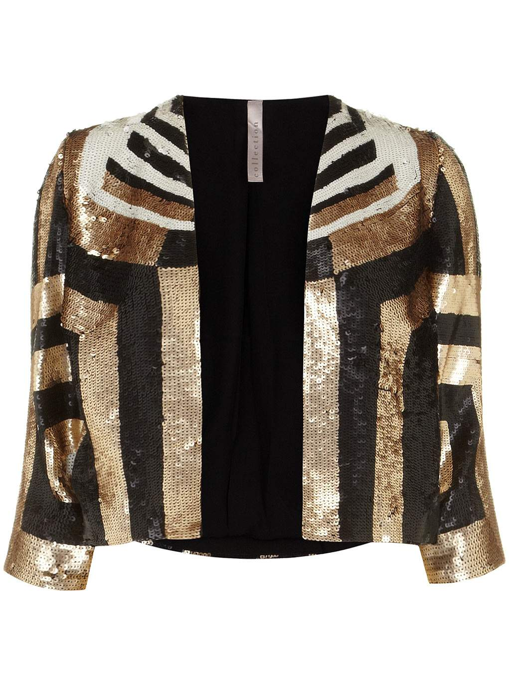 Gotta Have It: This Plus Size Sequins Bolero from Evans