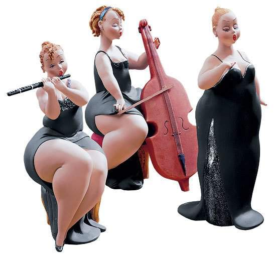 Plus Size Sculptures from Emilio Casarotto