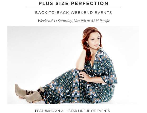 HauteLook Plus Size Sale THIS Saturday