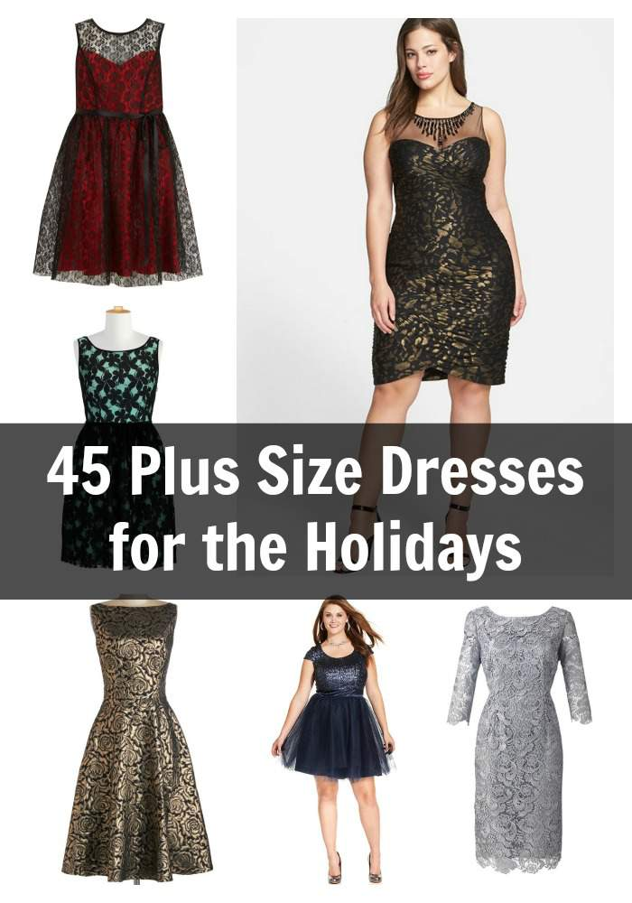 45 MUST HAVE Plus Size Holiday Dresses to Get NOW | The Curvy ...