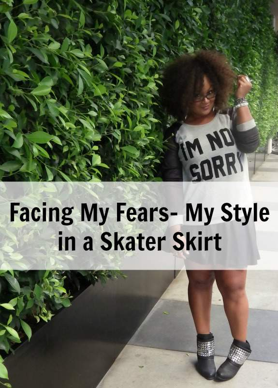 My Skater Skirt Style The Curvy Fashionista