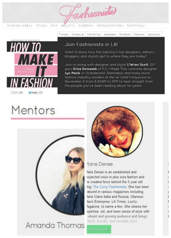 "Fashionista.com ""How to Make It"" West Coast Conference"