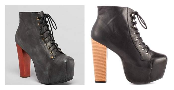 Platform Boots for Plus Size women- Splurge vs Steal: The Curvy Fashionista