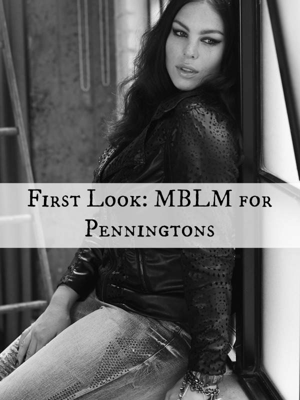 First Look: New Plus Size Collection from Penningtons MBLM and I dig it