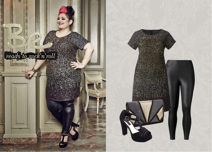 Simply Be Holiday Collection featuring bloggers on The Curvy Fashionista