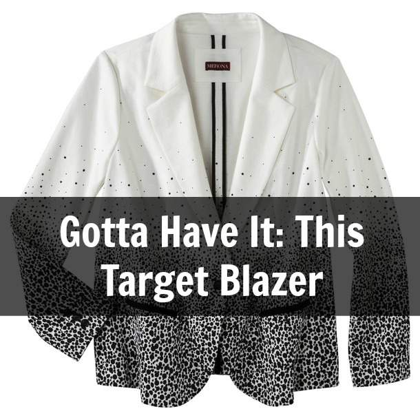 Gotta Have It: The Plus Size Blazer from Target