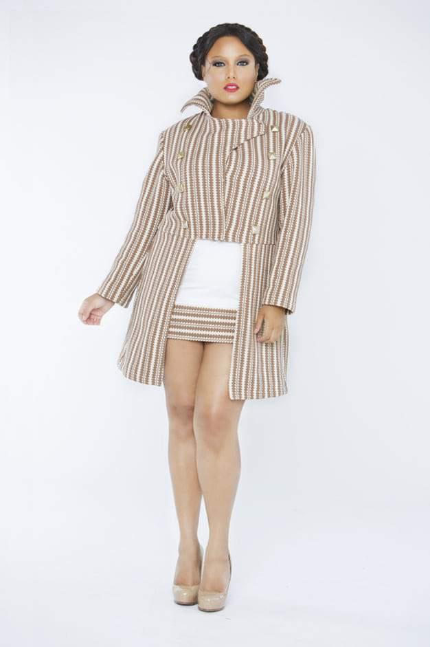 Plus Size Designer Tru Diva on  Designs Mocha Eve Jacket The CUrvy Fashionista