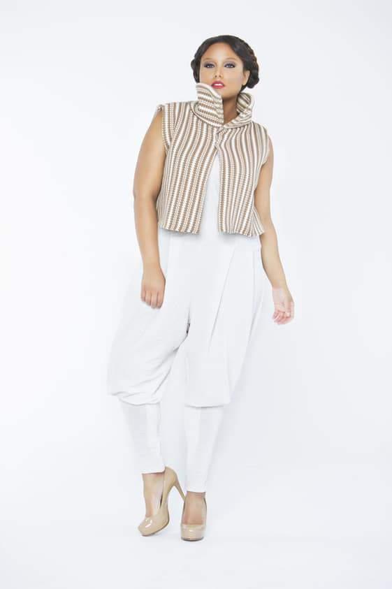 Plus size designer Tru Diva Designs Mocha Evelyn on The Curvy Fashionista