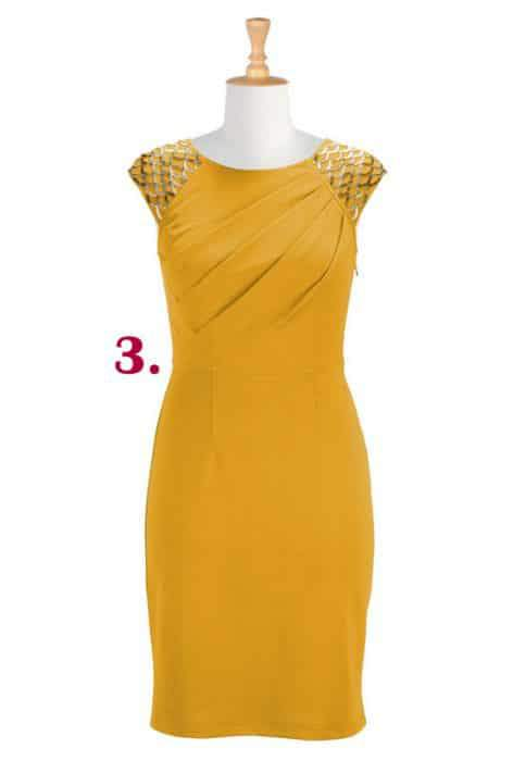 beaded-crepe-knit-sheath-dress