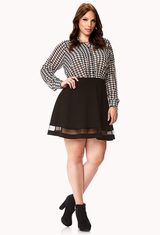 forever-21-plus-size-forget-me-not-skater-skirt-the-curvy-fashionista