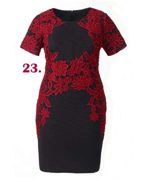 lace-panel-bodycon-dress