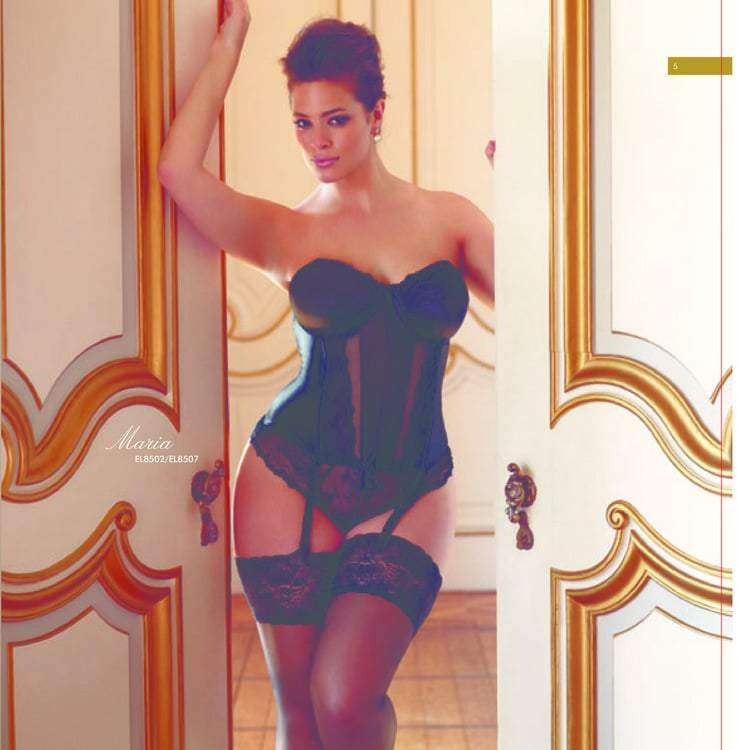 Elomi Plus Size Lingerie Fall 2013