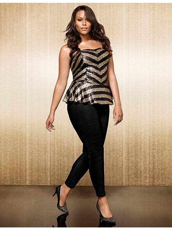 sequin-peplum-outfit-the-curvy-fashionista